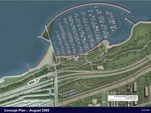 31st street harbor concept rendering