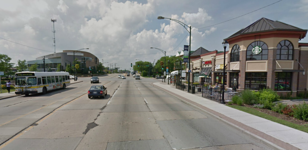 intersection of Touchy and Milwaukee in Niles