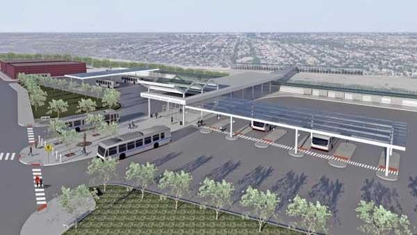 Jefferson Park train station rendering